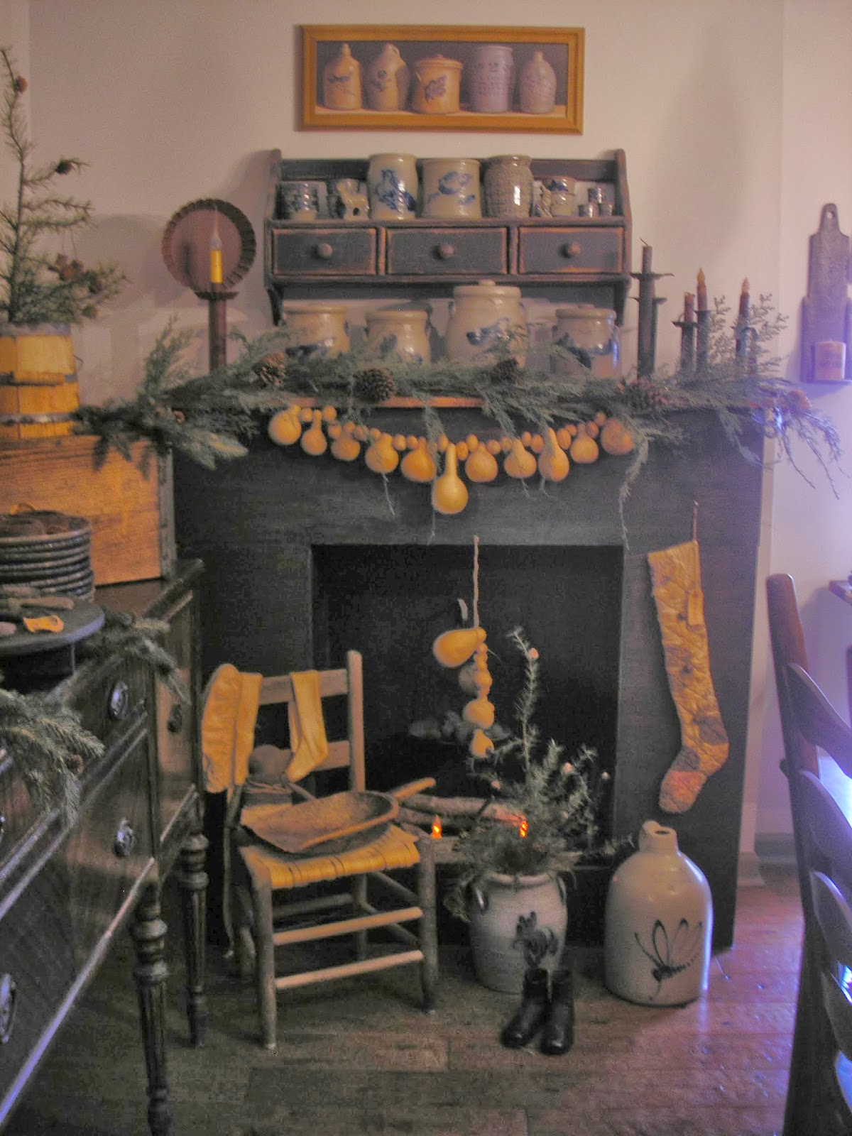 Taylors Farmhouse Attic My Dining Room Decorated For