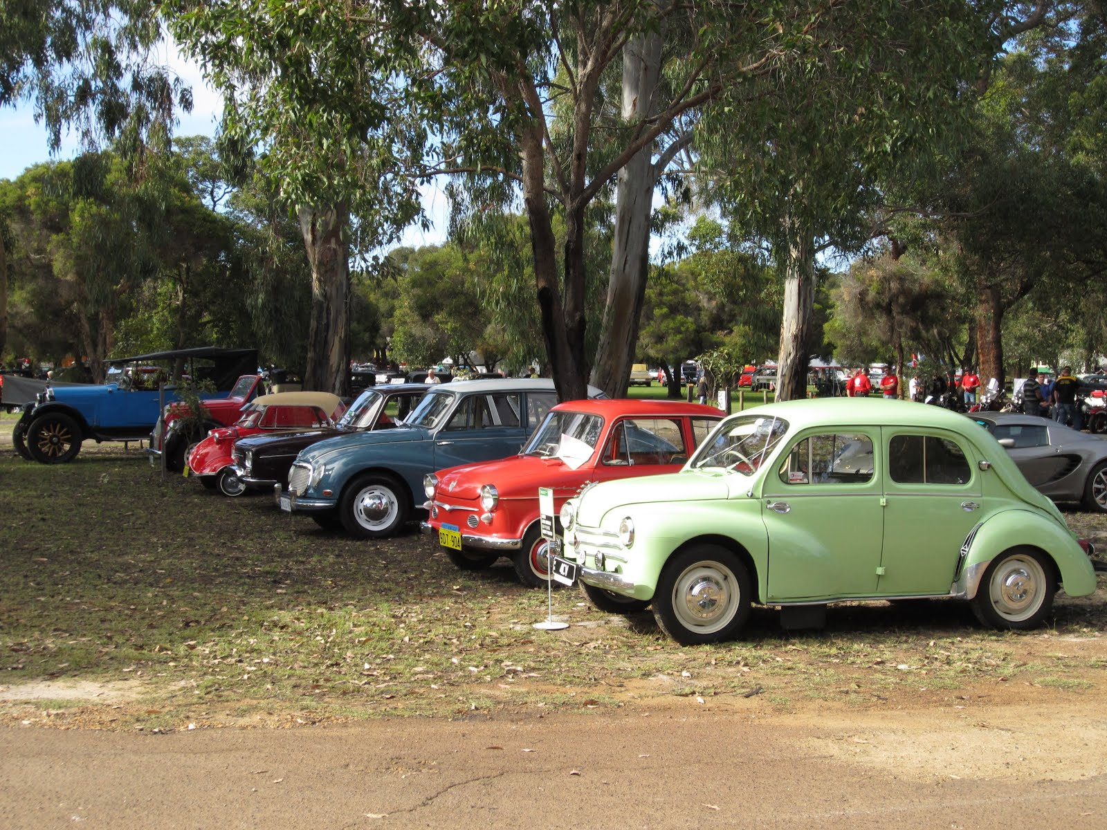 Classic Car Show Whiteman Park