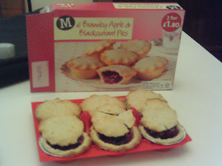 Morrisons Bramley Apple & Blackcurrant Pies