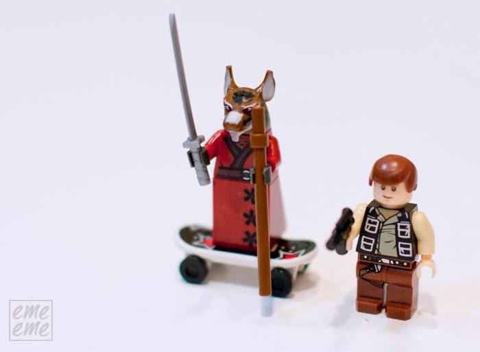 lego star wars tortugas ninja
