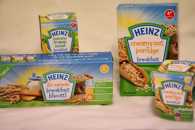 heinz baby food breakfast