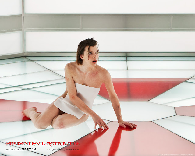 Resident Evil: Retribution PowerPoint background 05