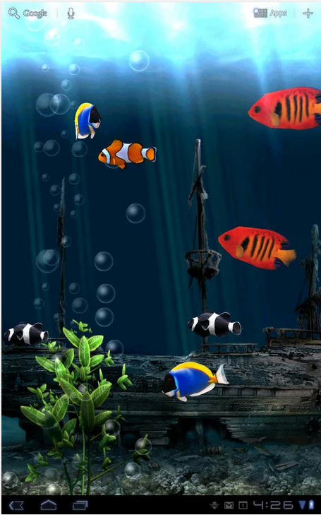 Aquarium Free Live Wallpaper_Android live wallpaper