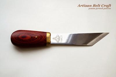 английский нож для истончения кожи