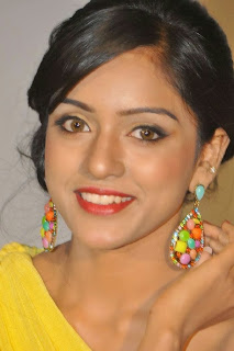 Vithika Sheru in Beautiful Half Sleeves Yellow Dress at Prema Ishq Kadhal Audio Success Meet