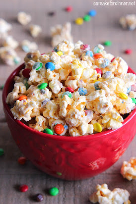 Best Ever White Chocolate Popcorn