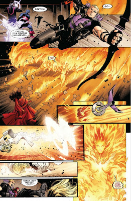 Oliver Coipel Art Pages - AVX #7 - 365 Days of Comics