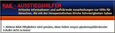 Nak-Aussteigshilfen een kritische website m.b.t. de NAK.