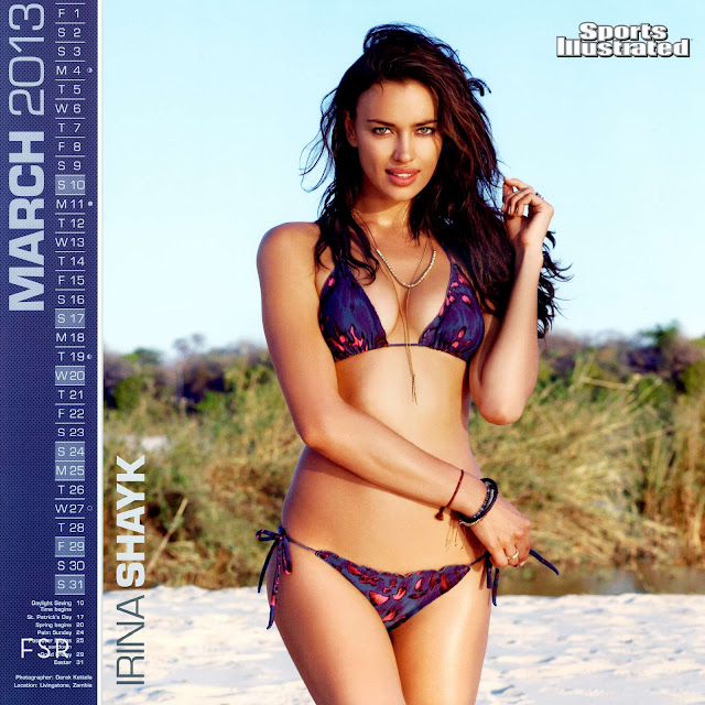 Irina Shayk Kate upton 2013 Sports Illustrated Swimsuit Calendar