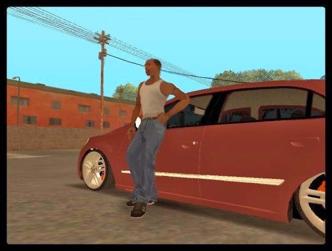 GTA SA - Lean Mod Encostar No Carro
