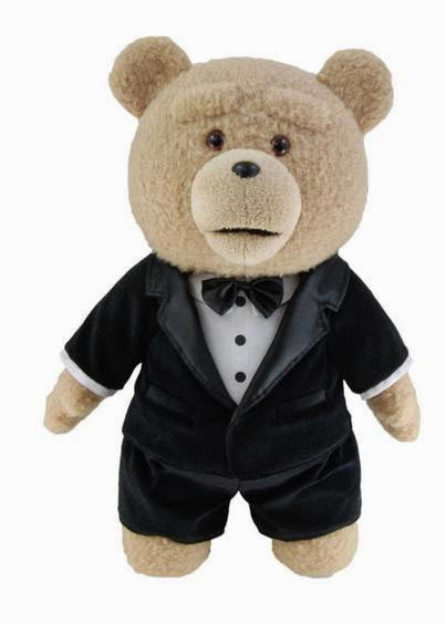 Peluche Oso Ted con Smoking
