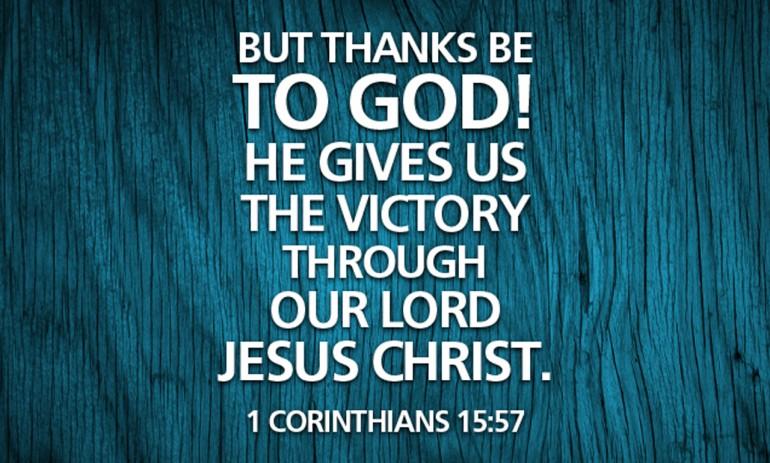 1 Corinthians 155758  ESV  eBible