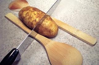 Roasted Fan Shaped Potatoes aka Hasselback Potatoes