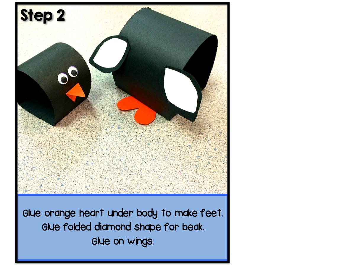 Pop-Up Penguins art project directions