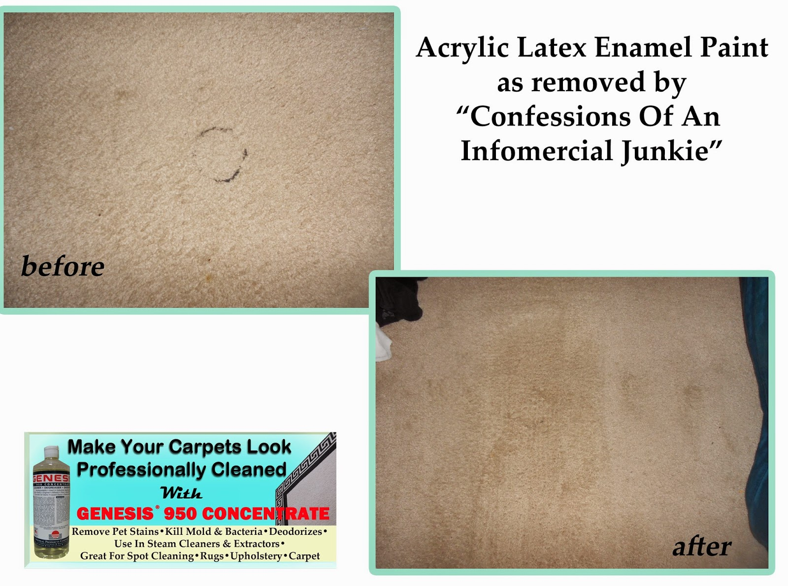 Remove Paint Stain From Carpet