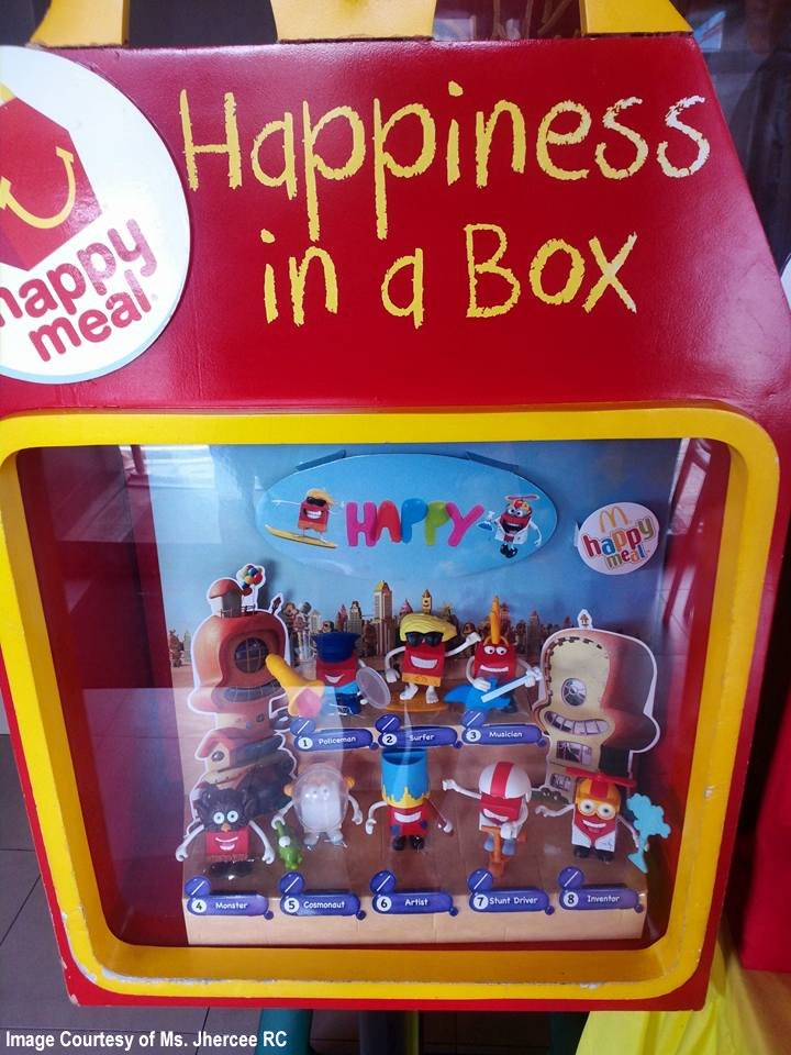 Geekmatic happy meal ph 2015 happy for Happy playsets