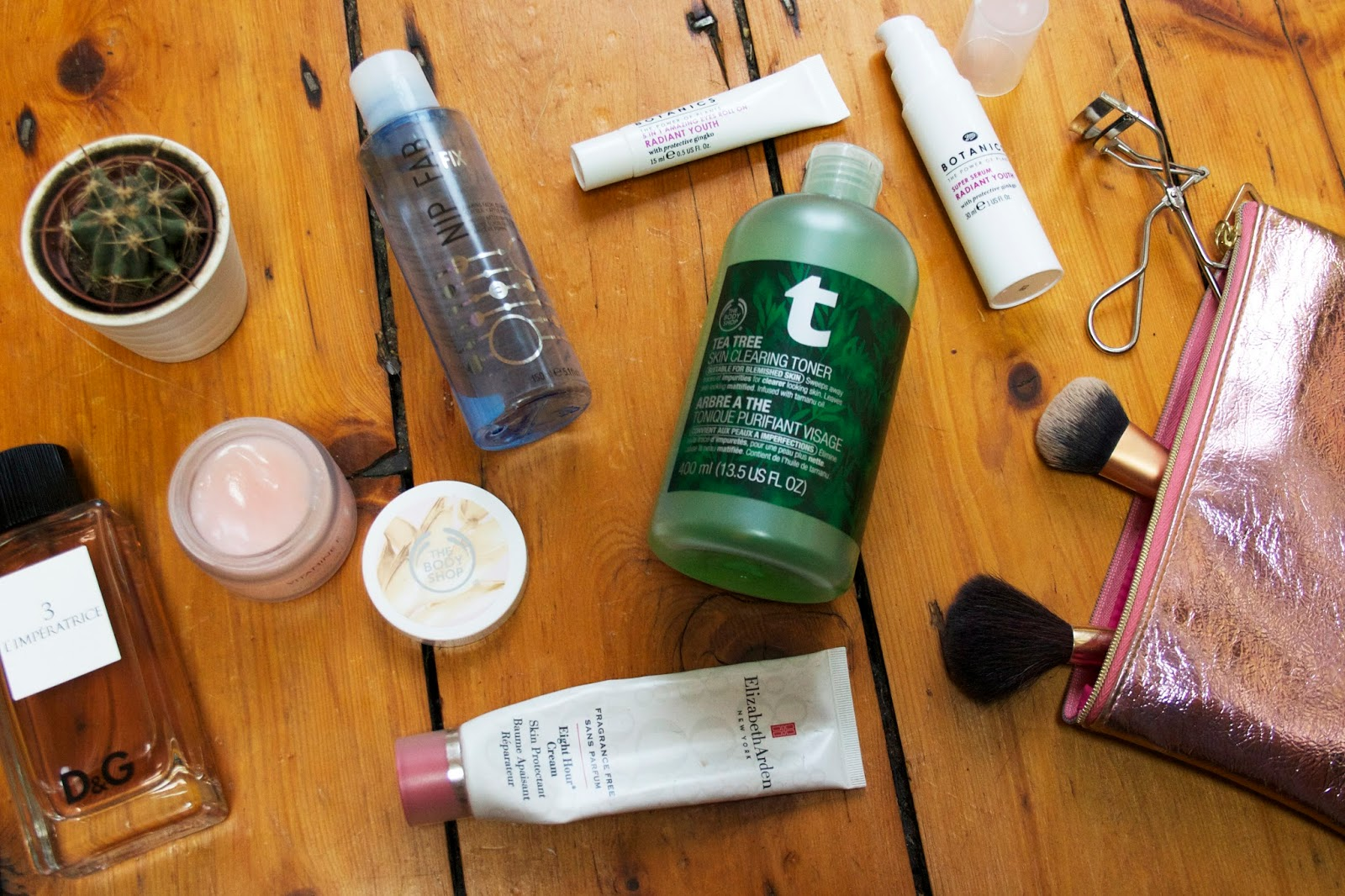 My morning skincare routine for oily or combination skin types