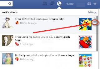 Cach chan loi moi choi Game tren Facebook