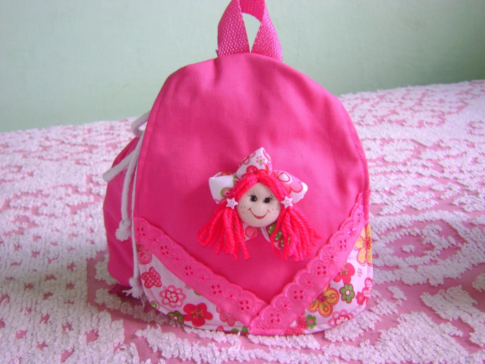 Bolsa De Tecido Infantil : Artesanato com amor bolsas de tecido infantil