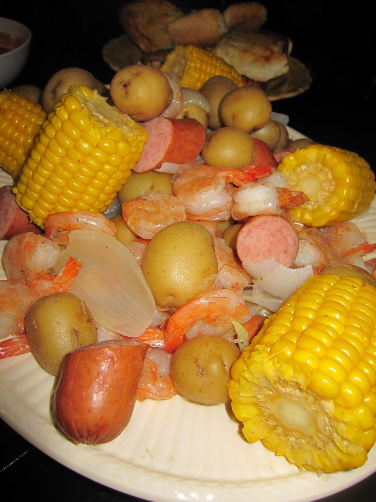 ClareMom: Cajun Shrimp Boil - More Claremore