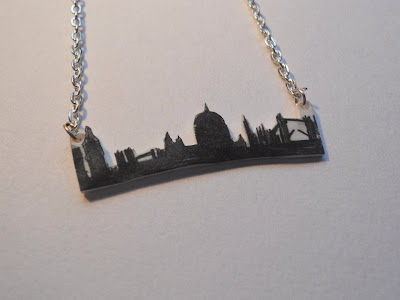 Jewellery by Jaymie london skyline necklace
