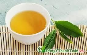 Nước uống mát gan - Nước trà xanh