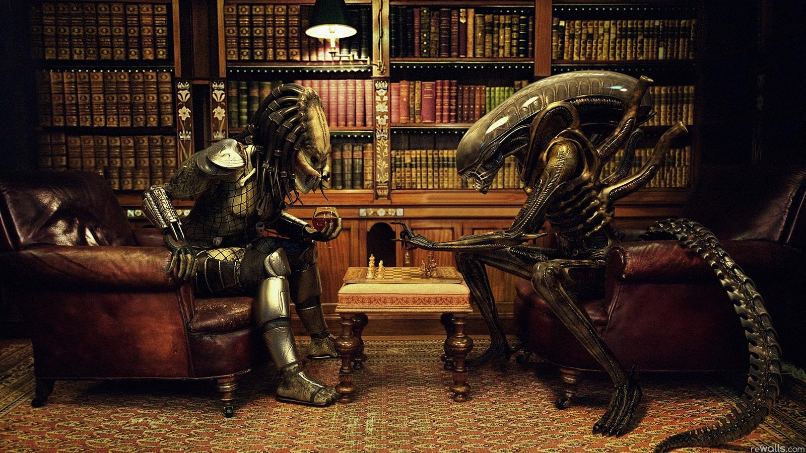 Alien vs Predator Chess
