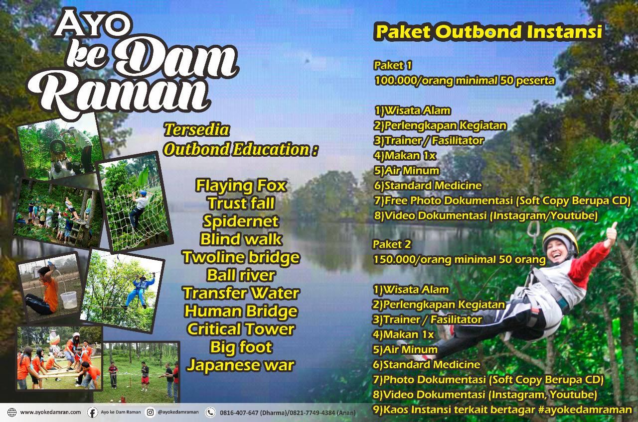 Wisata Outbond Dam Raman