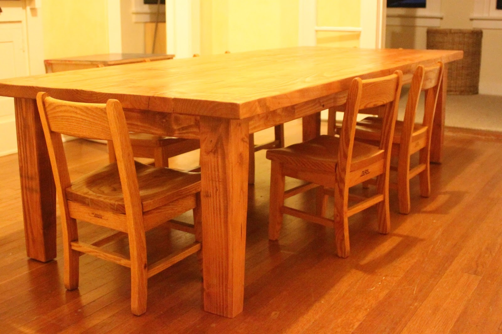 foot cedar table