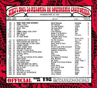 KHJ Boss 30 No. 198 - April 16, 1969