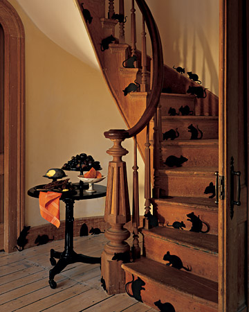 staircase mice halloween Martha Stewart Liz and Pip Ltd