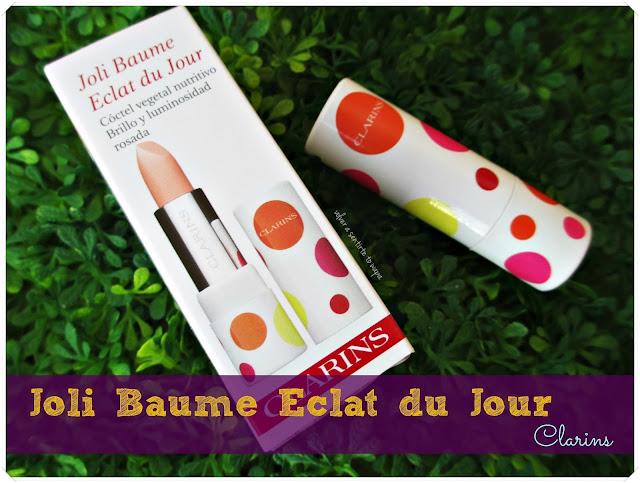 Joli Baume Eclat du Jour de CLARINS ¡labios de melocotón!
