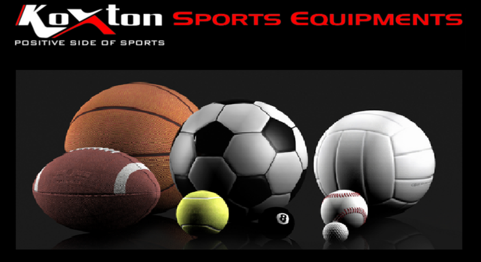 Koxton: Sports Equipments Manufacturer and Supplier, India