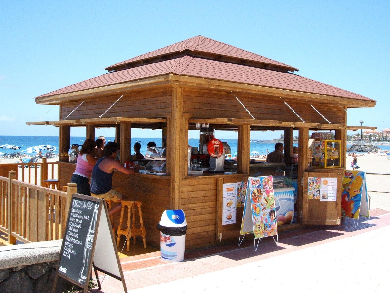Carpimob global kiosko chiringo playa las vistas los for Kioscos de madera baratos