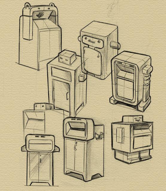 Разработка урн для раздельного сбора следующих потоков отхода:  «Бутылки из стекла и пластика»;  «Макулатура»;  «Прочие отходы».