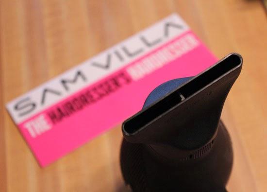 Sam Villa E-T.C. Dryer, the lightest dryer on the market