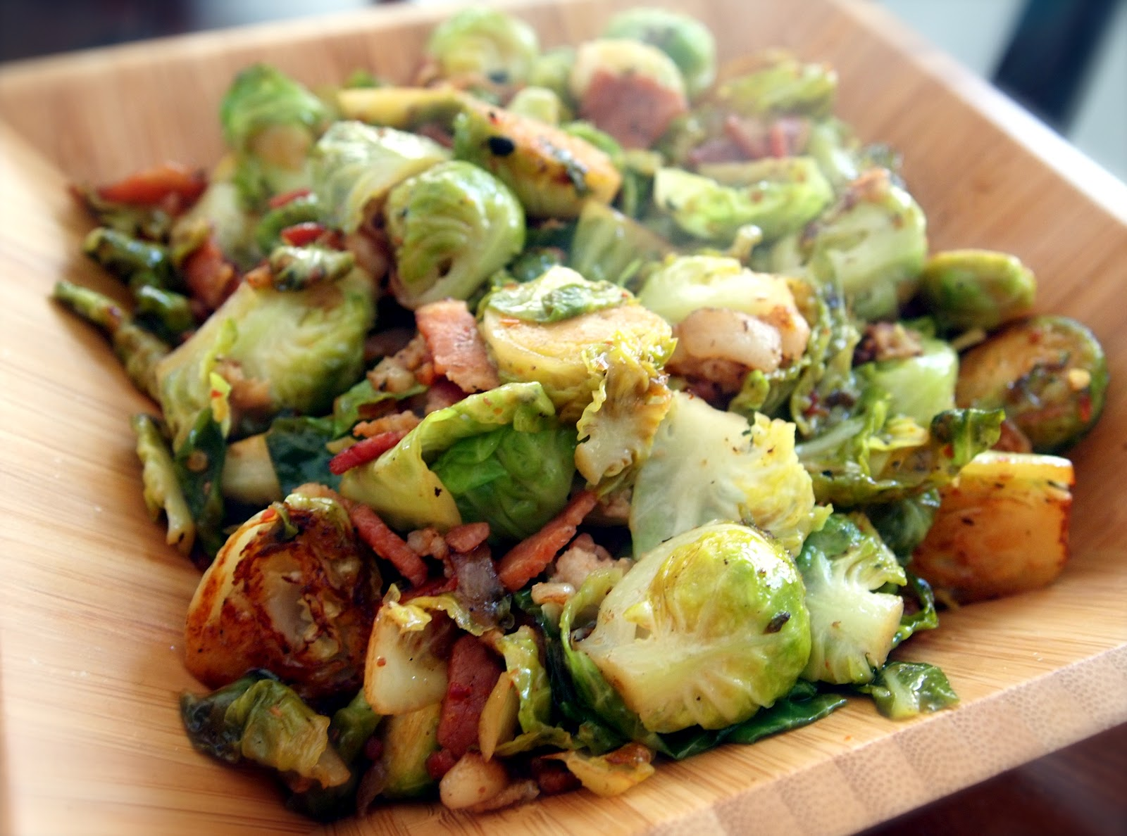 Bell's Pale Ale Braised Brussels Sprouts ~ Michigan Beer Blog