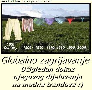 Smiječne slike,globalno zagrijavanje na djelu