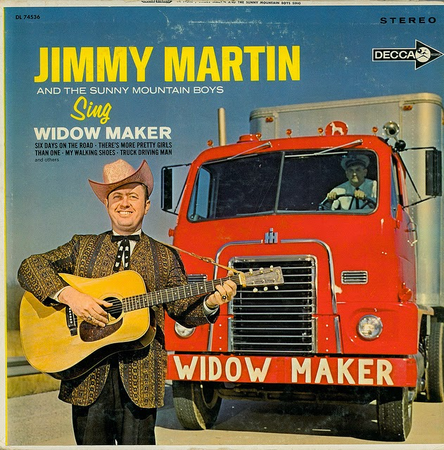 Jimmy Martin And The Sunny Mountain Boys Singing All Day And Dinner On The Ground