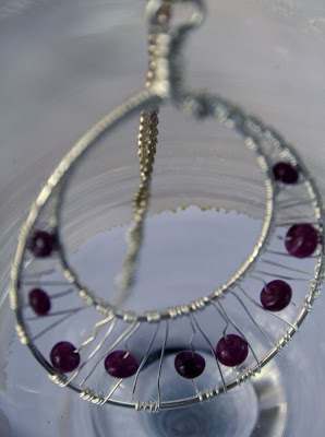 Eivor (wise gift): sterling silver, rubies :: All Pretty Things
