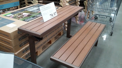 Lifetime Convertible Bench – The look of wood without all the maintenance