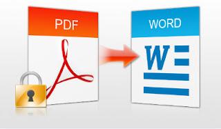 طريقة لتحويل ملف PDF إلي ملف Word بدون برامج