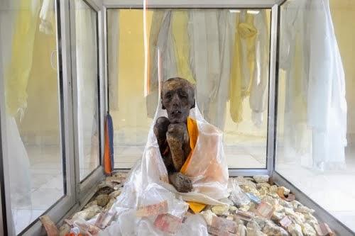 A monk mummy