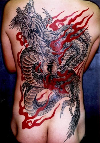 tattoos of dragons