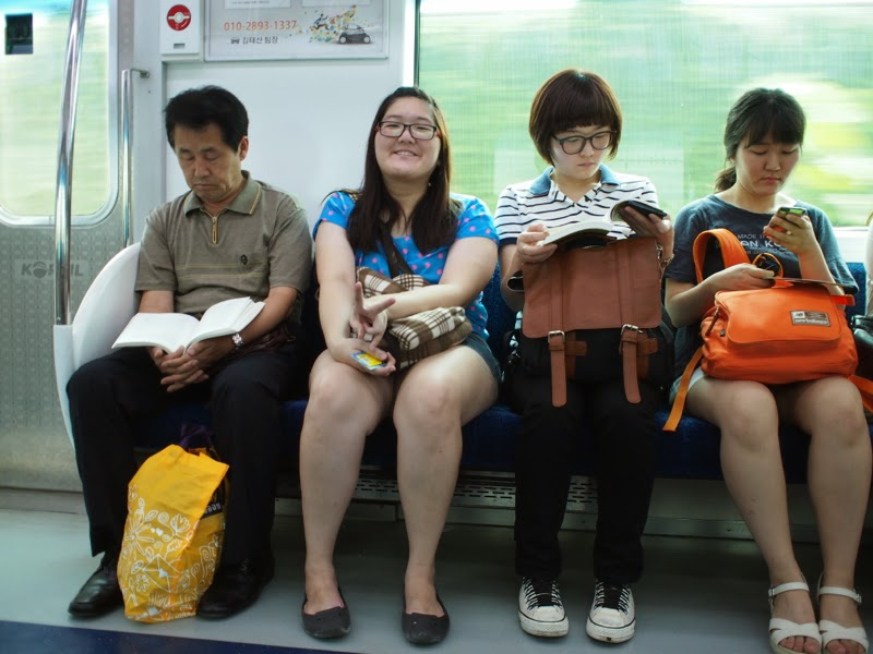 Ewha University Summer Studies Travel Seoul Subway cabin lunarrive blog singapore