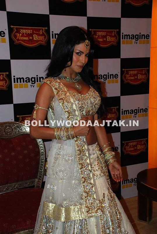 1 - Hot Veena Malik Imagine Swayamanwar press meet