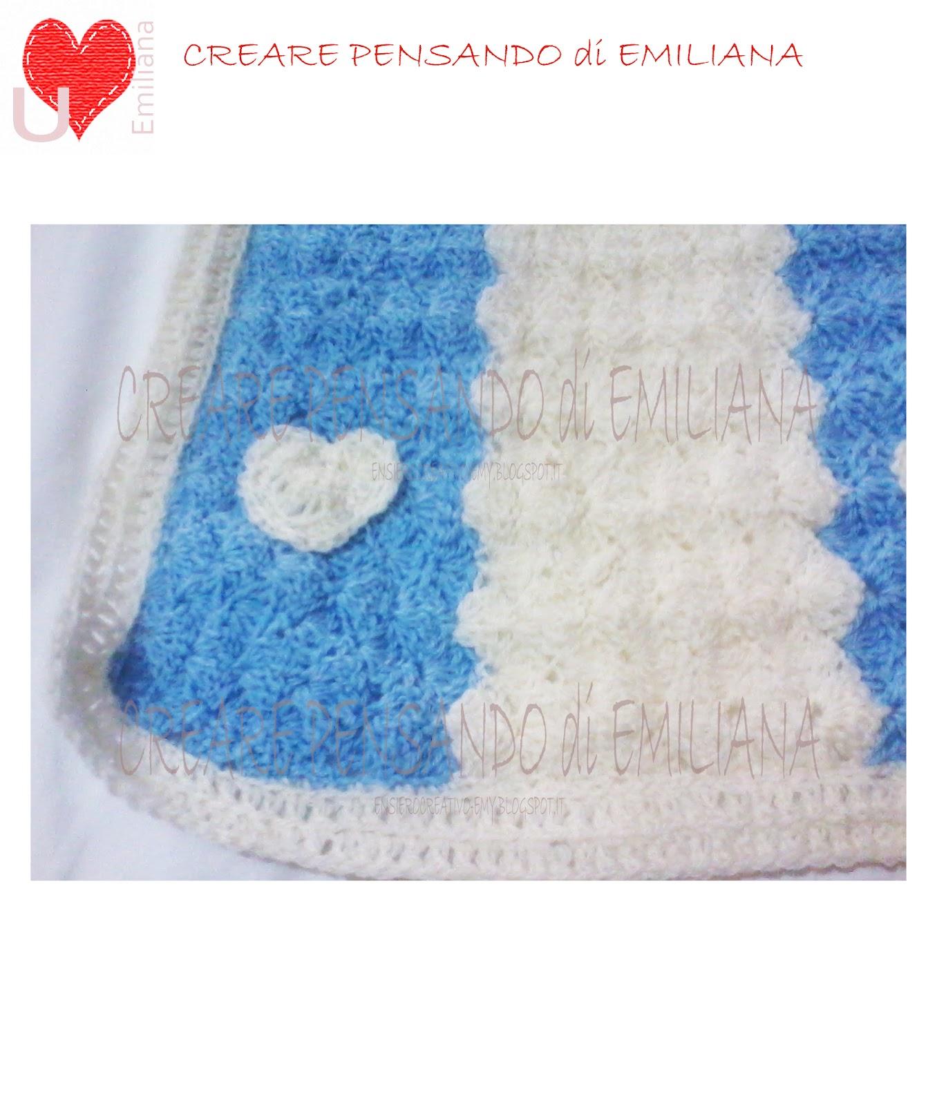 Creare pensando di emiliana coperta beb bimbo for Come costruire un aggiunta coperta