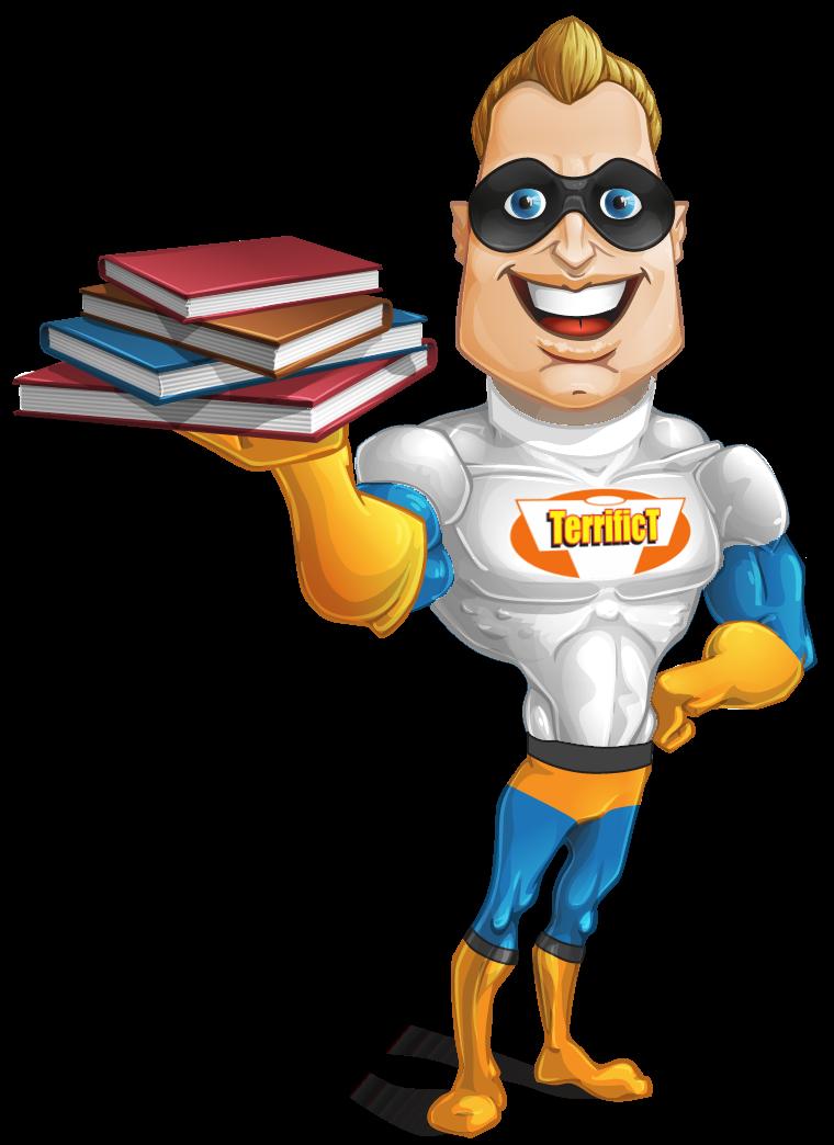 Mr. Terrific Blog Page Plans for TerrificT