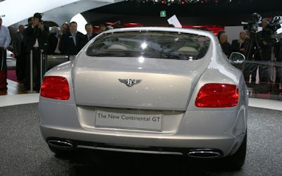 Bentley-Continental-GT-Rear-View