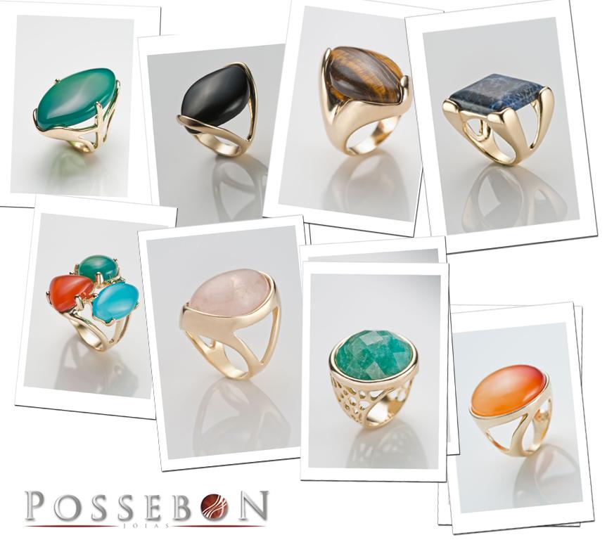 Pedras brasileiras para semi joias